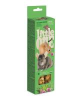 Little One  Палочки для морских свинок, кроликов, шиншилл с Луговыми травами 2шт*60г