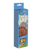 Little One  Палочки для морских свинок, кроликов, шиншилл с Овощами 2шт*60г