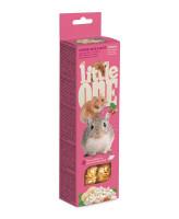 Little One  Палочки для хомяков, крыс, мышей и песчанок с воздушным рисом 2шт*55г