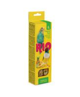 RIO Палочки для волнистых попугаев и экзотов с Тропическими фруктами 2шт*40г