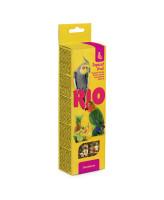 RIO Палочки для средних попугаев с Тропическими фруктами 2шт*75г
