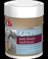 8in1 Excel Мультивитамины для собак мелких пород с витамином С и антиоксидантами 70табл.