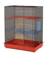 INTERZOO Клетка для грызунов TEDDY LUX II 43*28*54см