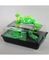 INTERZOO Клетка для грызунов ALEX с комплектом 58*38*25см