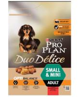 Pro Plan DUO DELICE Small & Mini корм для собак мелких и миниатюрных пород, говядина/рис