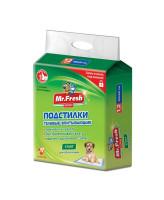 Mr.Fresh Regular Start Подстилки гелевые для приучения к месту 60*60см 12шт