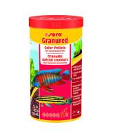 Sera Granured Корм для плотоядных цихлид, гранулы 250мл