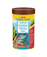Sera Сichlids Sticks Корм для цихлид и других крупных рыб, палочки 250мл