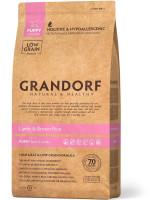 Grandorf Корм для щенков всех пород Ягненок с рисом Lamb&Rice Pappy All Breeds