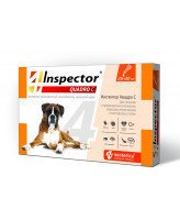 Инспектор Quadro Скапли для собак весом 25-40кг от внешних и внутренних паразитов 1 пипетка