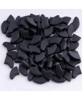 Антицарапки Колпачки на когти для кошек, черные 40шт