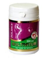 Polidex Multivitum Поливитаминно-минеральный комплекс для кошек 200таб