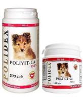 Polidex Polivit-Ca plus Витаминно-минеральный комплекс для щенков 150таб