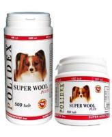 Polidex Super Wool Витамины для шерсти, кожи, когтей и профилактики дерматитов для собак