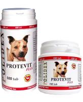 Polidex Protevit plus Витаминный комплекс общеукрепляющего действия для собак 150таб