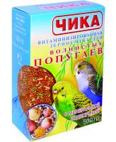 Чика корм для волнистых попугаев с минеральной подкормкой 500г