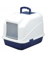 Туалет-домик для кошек Triol с дверцей и фильтром 48*40*41см