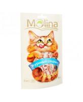 Molina лакомство для кошек Куриный сэндвич 80г