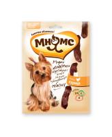 Мнямс Мини-колбаски для собак мелких пород с курицей 75г