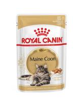 Royal Canin Maine Coon консервы для кошек породы Мейн-Кун кусочки в соусе 85г