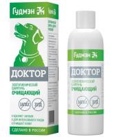Доктор Шампунь для собак очищающий от зуда и запаха 200мл