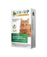 ИН-АП Комплекс капли для кошек против блох, клещей, власоедов и гельминтов 1мл