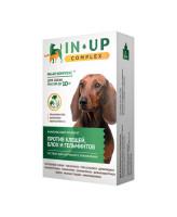 ИН-АП Комплекс капли для собак и щенков до 10кг против блох, клещей, власоедов и гельминтов 1мл