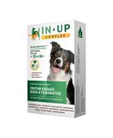 ИН-АП Комплекс капли для собак 20-30кг против блох, клещей, власоедов и гельминтов 3мл