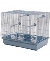 INTERZOO Клетка для птиц MESSI, цинк  59*37*48см