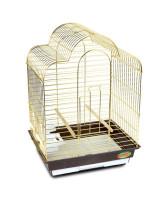 Triol Клетка для птиц 46,5*36*65см золото