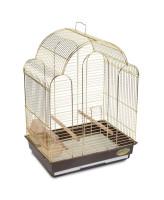 Triol Клетка для птиц 42*30*56см золото