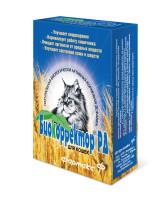 Биокорректор Натуральная биологически активная добавка для кошек 60таб.