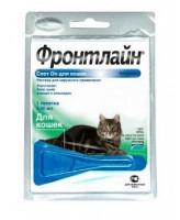 Фронтлайн Спот Он Капли для кошек от блох и клещей 0,5мл*1пипетка