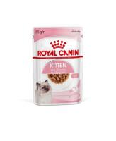 Royal Canin Kitten Instinctive консервы для котят от 4 до 12мес. и берем. кошек кусочки в соусе 85г