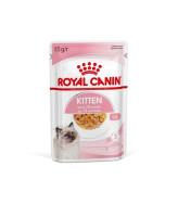 Royal Canin Kitten Instinctive консервы для котят от 4 до 12мес. и берем. кошек кусочки в желе 85г