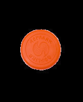 Doglike Летающая тарелка малая для собак всех пород, оранжевое 20*2см DK-7333