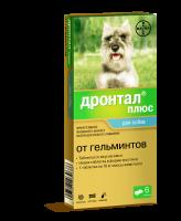 Дронтал Плюс антигельминтик для собак со вкусом мяса 6шт