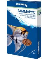 Зоомир Гаммарус Корм для рыб 10г