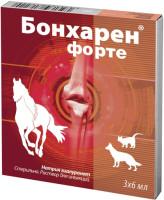 Бонхарен форте для лечения опорно-двигательного аппарата животных 1% 6мл 3 ампулы