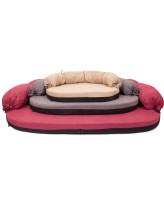 Диван для собак Гамма Элегант Мини №1, велюр, съемный чехол, 65*55*8см цвета в ассортименте