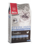 BLITZ Sterilised Корм для кастрированных/стерилизованных кошек