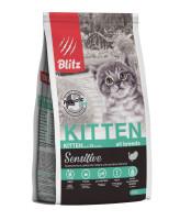BLITZ Kitten Корм для котят с Индейкой