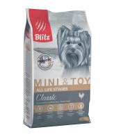 BLITZ Mini & Toy Корм для собак миниатюрных и мелких пород