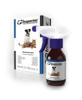 Инспектор спрей для кошек и собак от внешних и внутренних паразитов 100мл
