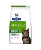 HILL'S диета для кошек Metabolic для коррекции веса