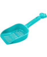 Дарелл Совок для туалета мелкая ячейка 9*25*4см цвета разные