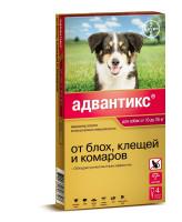 Адвантикс 250С капли для собак 10-25кг от блох и клещей