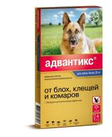 Адвантикс 400С капли для собак более 25кг от блох и клещей