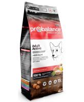 ProBalance Immuno Adult Active Корм для собак с высокой активностью 15кг