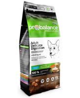 ProBalance Delicate Digestion Корм для собак всех пород Лосось/рис 15кг